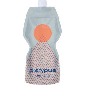 Platypus SoftBottle Closure Cap 1l, transparant/oranje